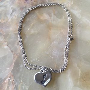 James Avery Music Note Charm and Chain 18 inches